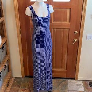 Striped Maxi Dress S/P